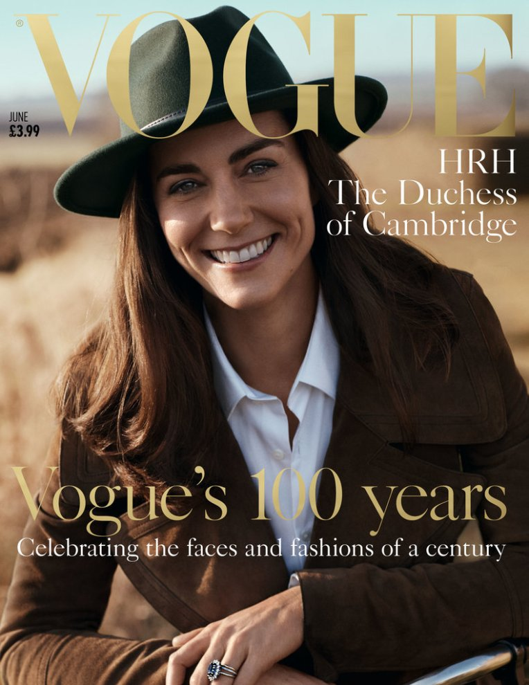 Cover of the 100th Edition of Vogue